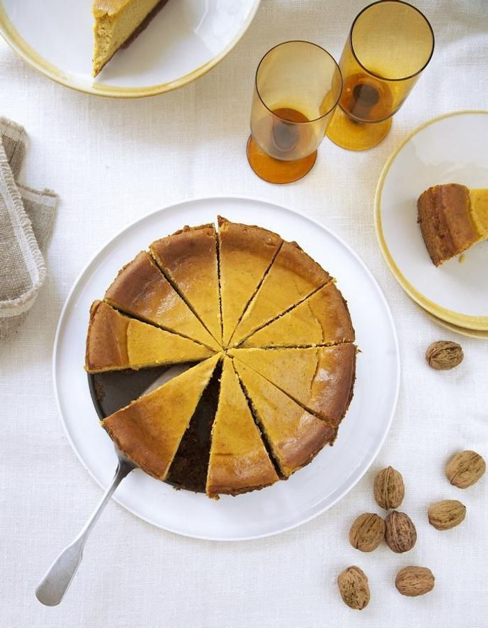 Cheese-cake au potimarron et spéculoos