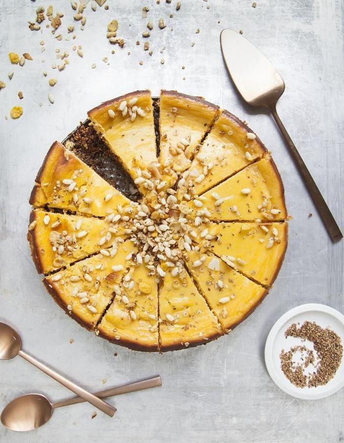 Cheese-cake butternut, sésame