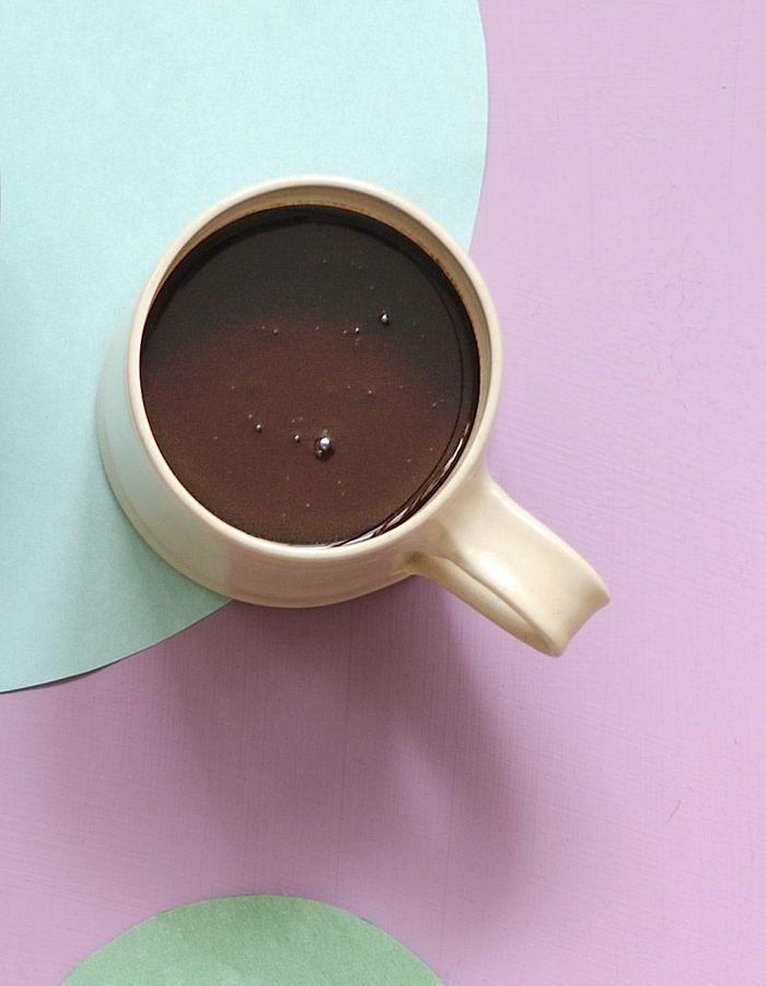 Chocolat à l'eau