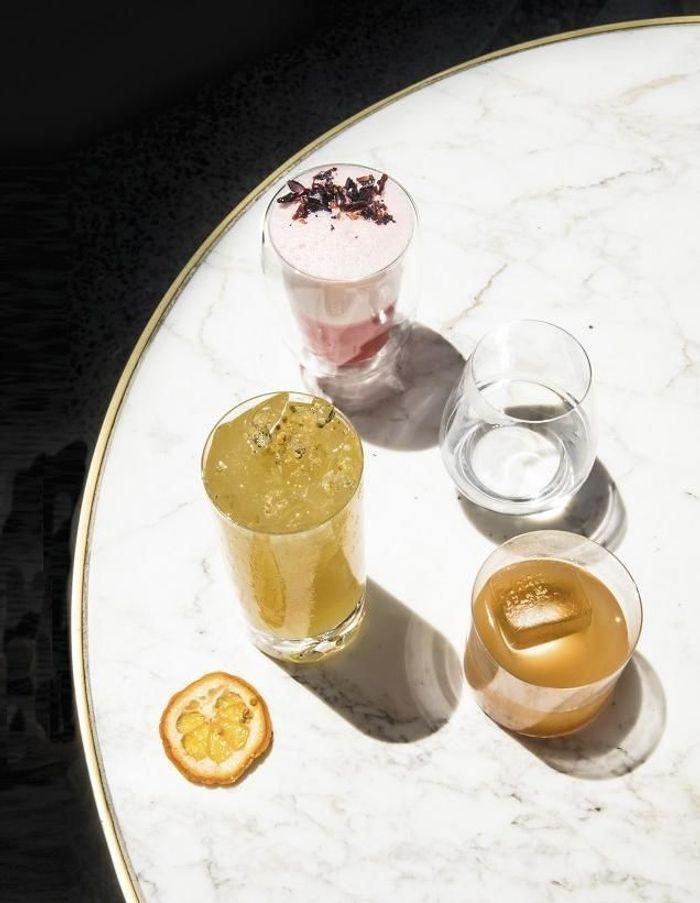 Cocktail Dylan Thomas au bourbon