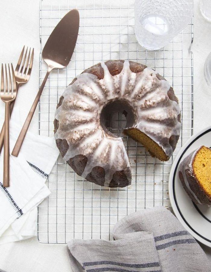 Coffee cake au potimarron