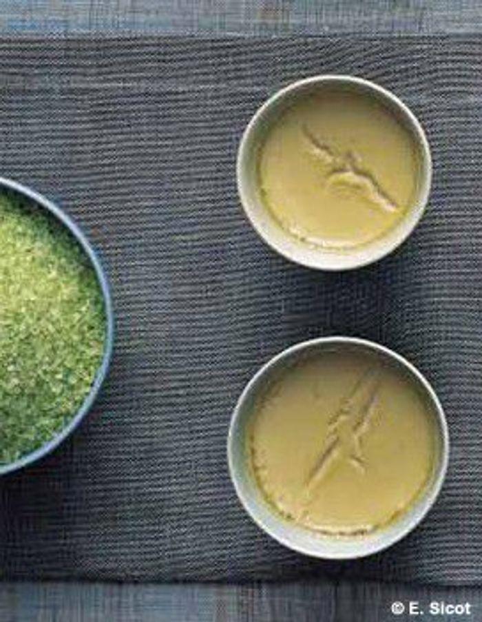 Crème légère au thé vert