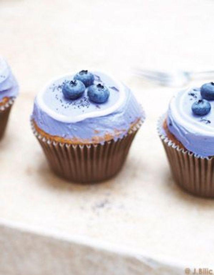 Cupcakes myrtilles
