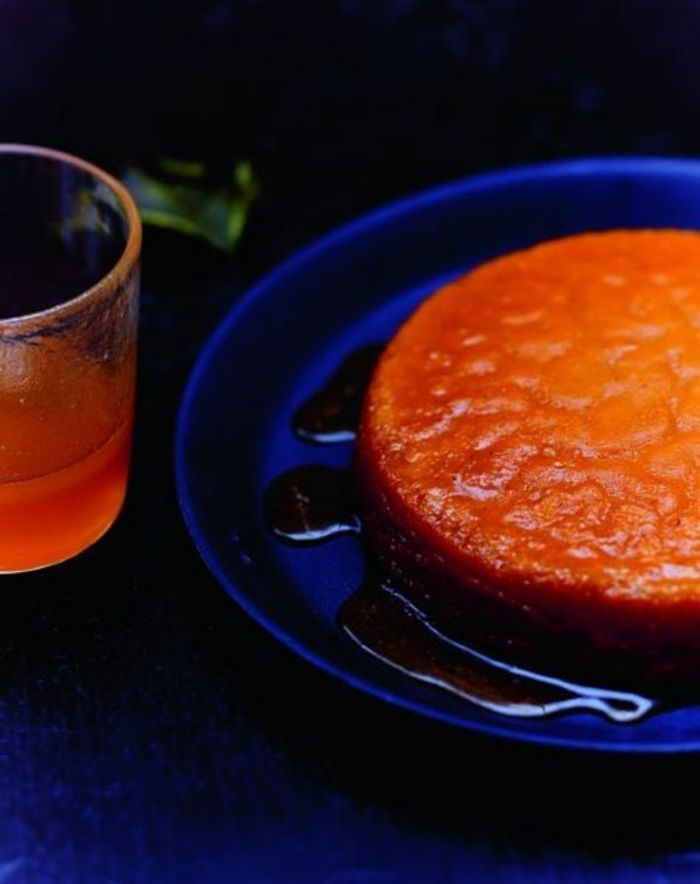 Flan potimarron-orange