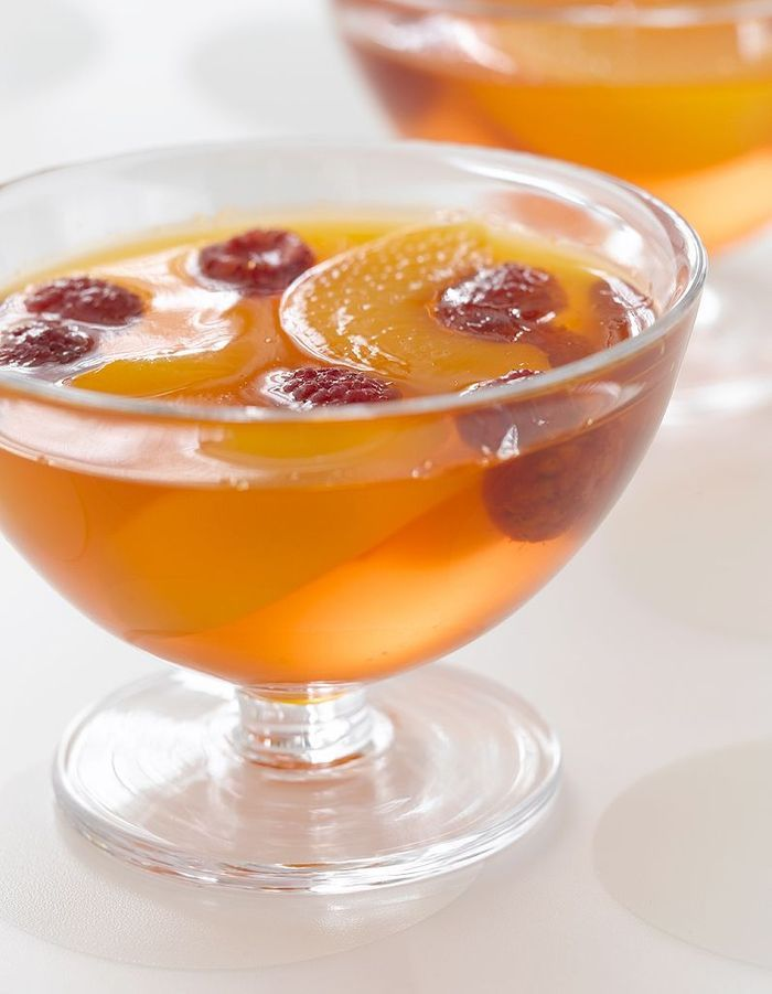 Fruits secs au sirop d'agrumes