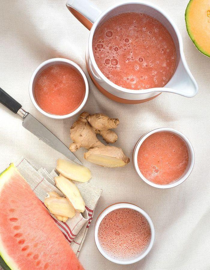 Gaspacho pastèque-melon
