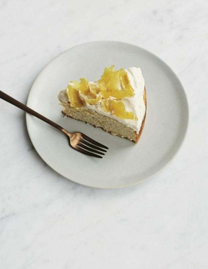 Gâteau haricots et citron