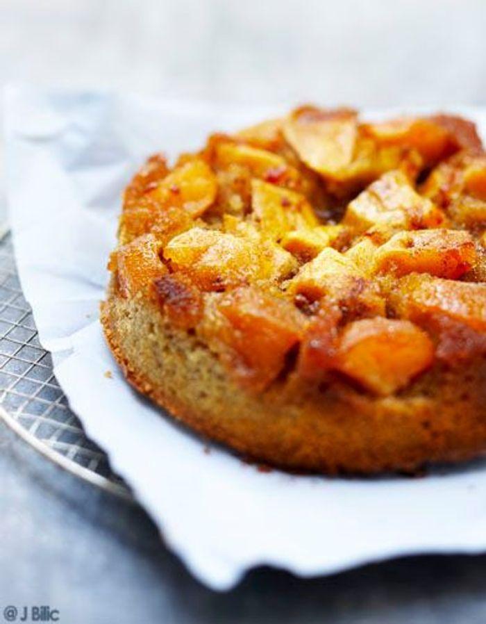 Gâteau renversé pommes et cannelle