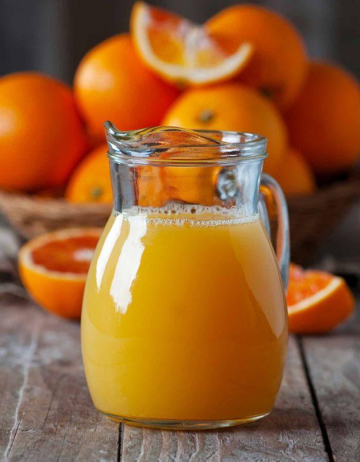 Jus d'orange Thermomix