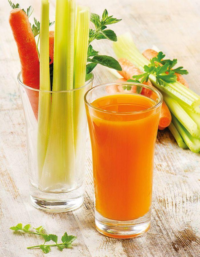 Jus santé carotte céleri