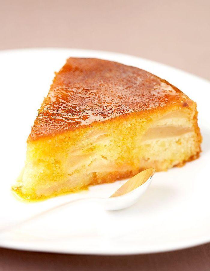 Le gâteau pommes-safran