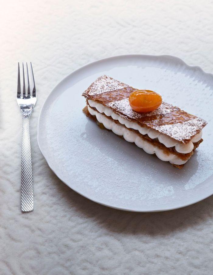 Le millefeuille vanille-kumquat de Jenny Packham