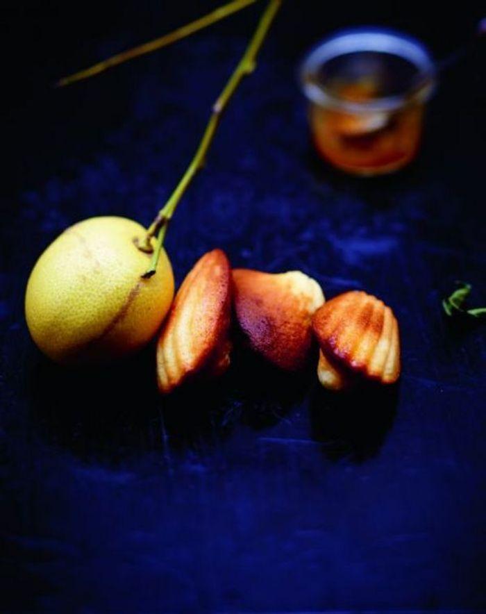 Madeleines et marmelade