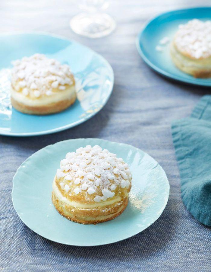 Mini-tartes tropéziennes
