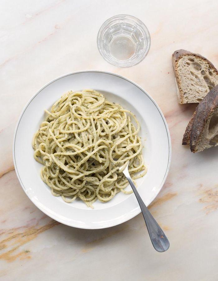Pasta aux herbes