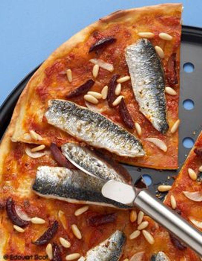 Pizza aux sardines