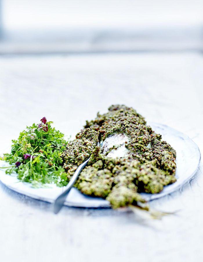 Poisson sauce Tarator