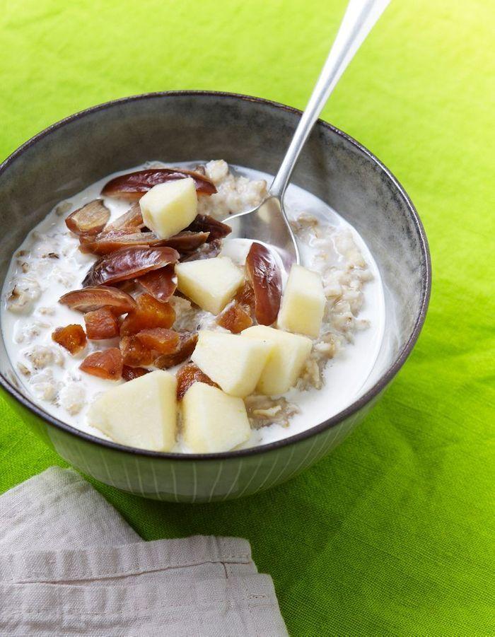 Porridge aux fruits secs