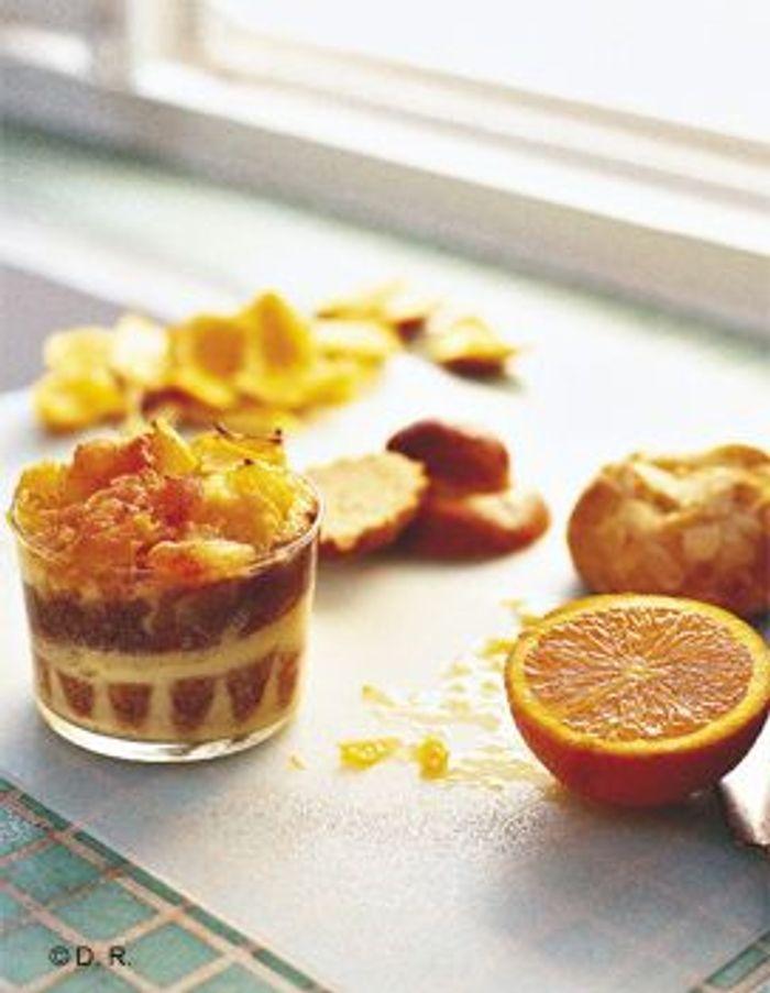 Pudding d'agrumes à la brioche