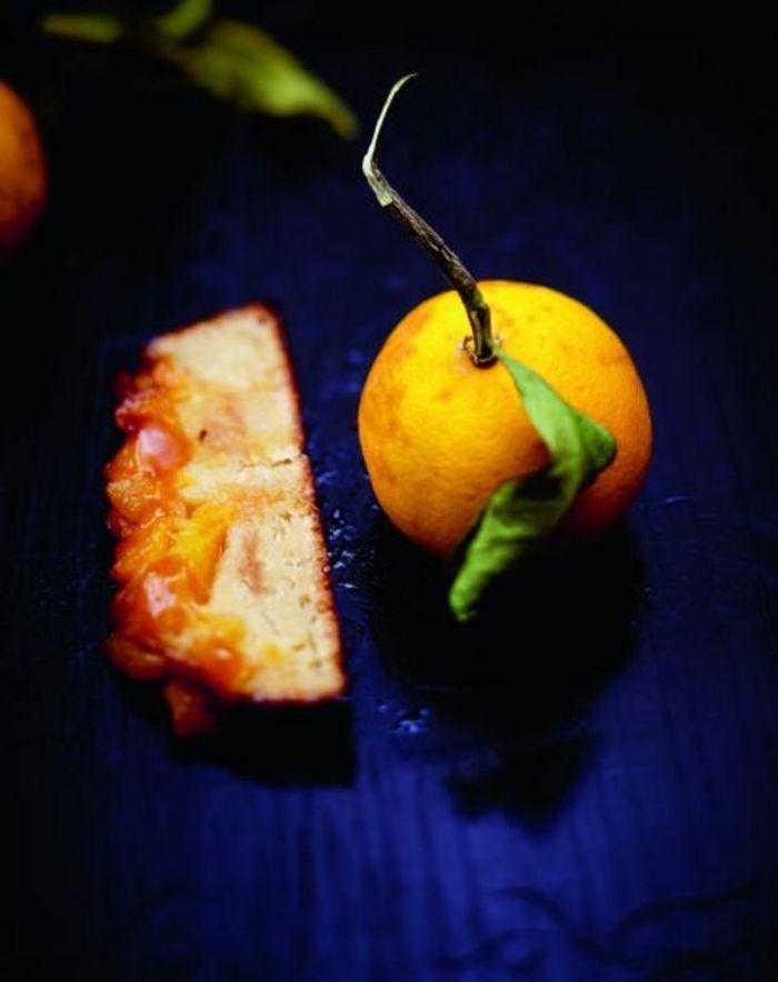 Quatre-quarts à l'orange