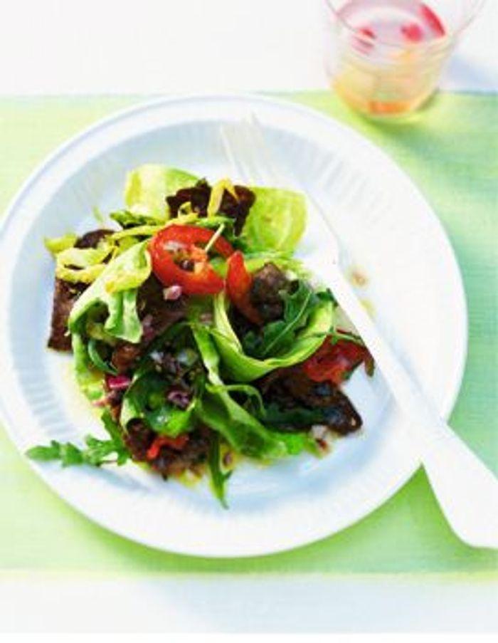 Salade de carpaccio grillé