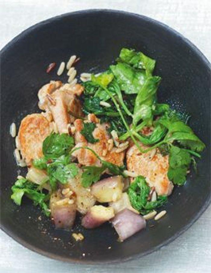 Sauté de porc au soja