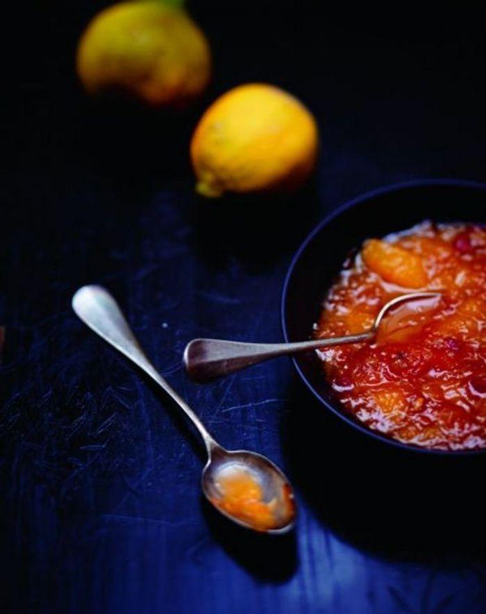Soupe tiède d'agrumes