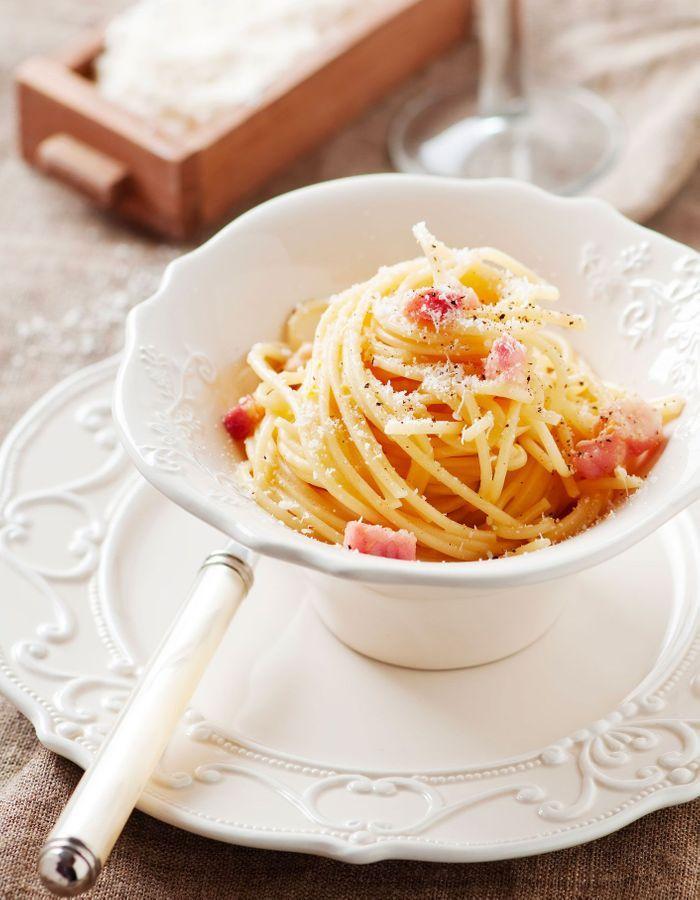 Spaghetti à la carbonara Thermomix