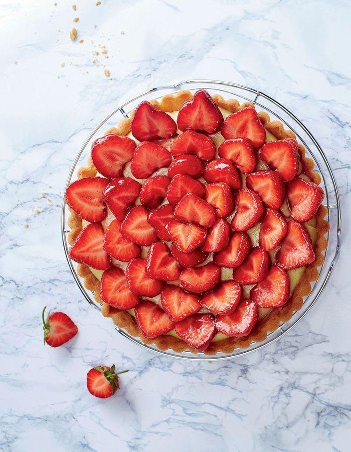 Tarte aux fraises facile