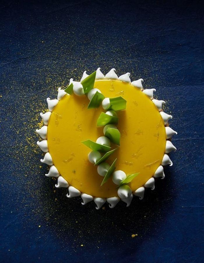 Tarte citron meringuée comme un soleil