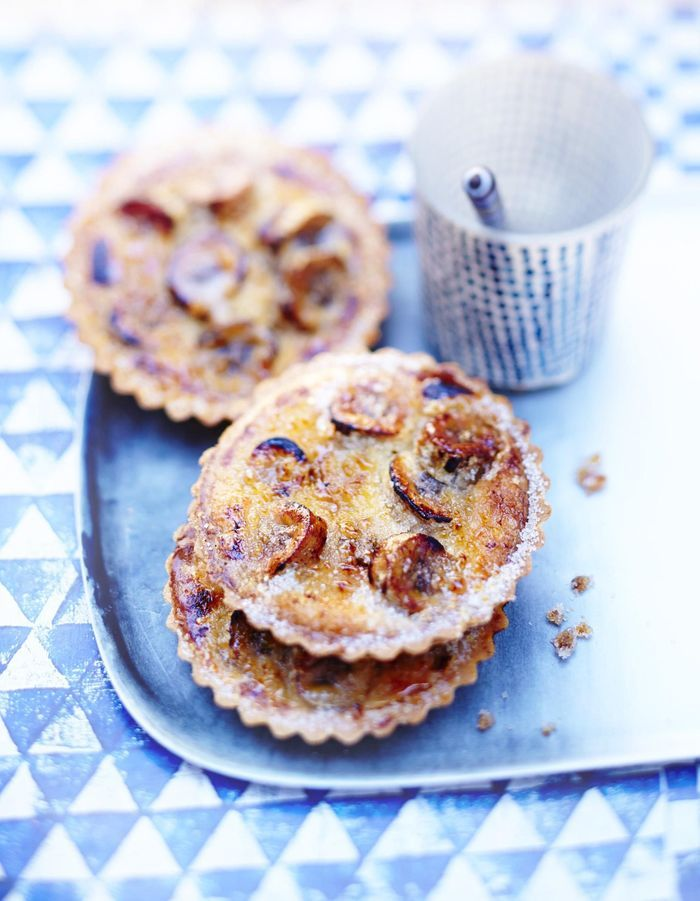 Tartelettes banane-cannelle