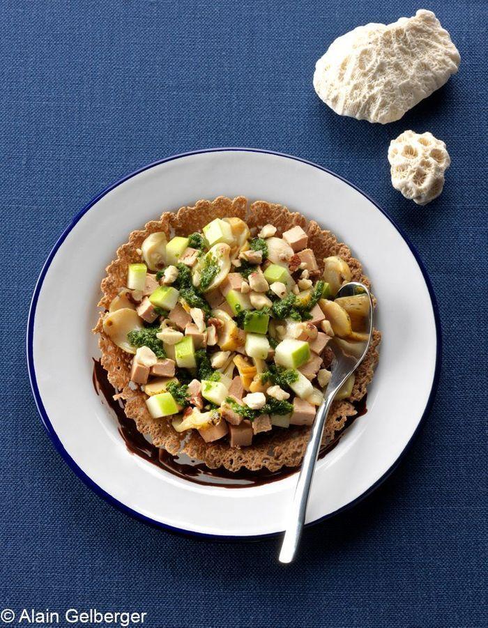Tartelettes de bulots et foie gras
