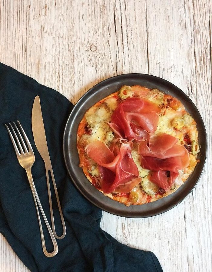 Tortizza jambon tomate