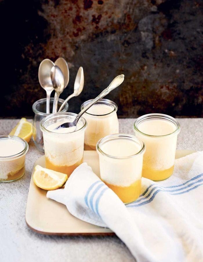 Yaourts au soja et au citron Thermomix