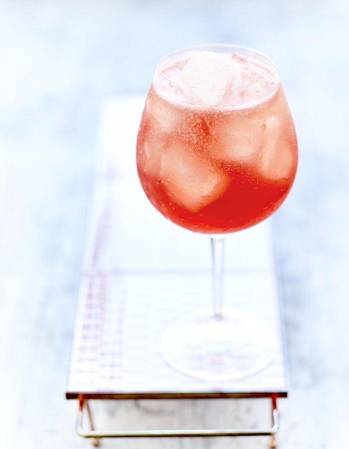 Cocktail pastèque Campari