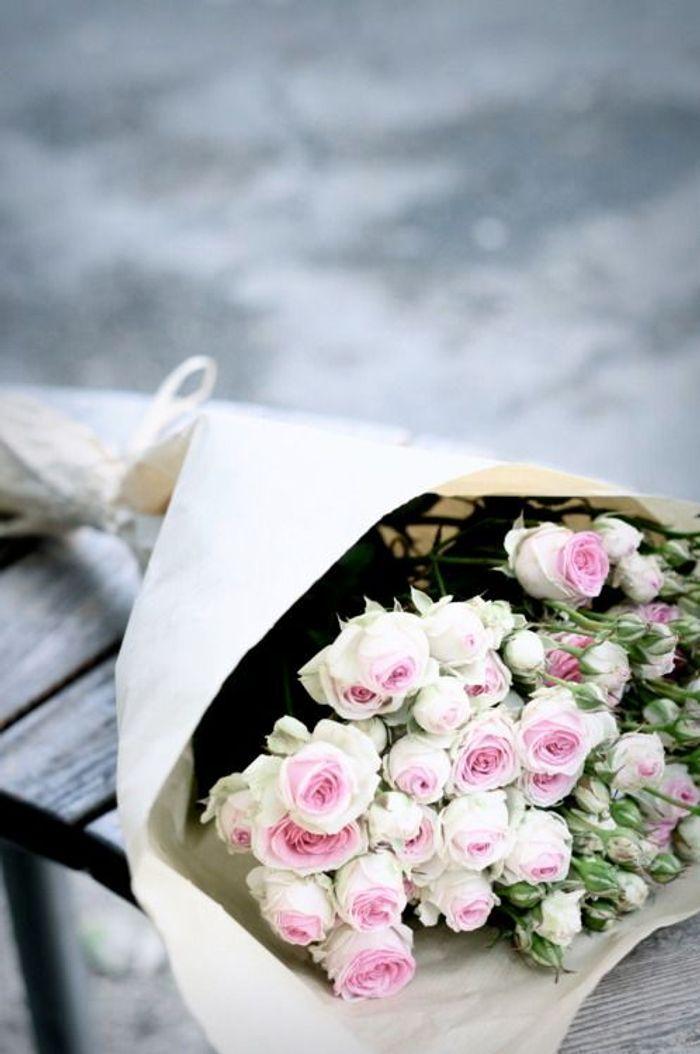 Bouquet de roses anciennes