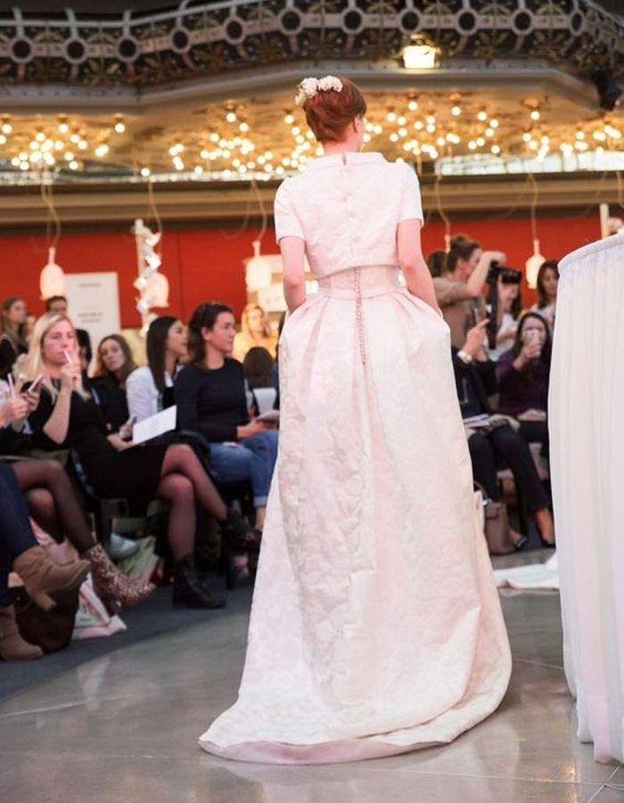 Robe de mariée de princesse de créateur