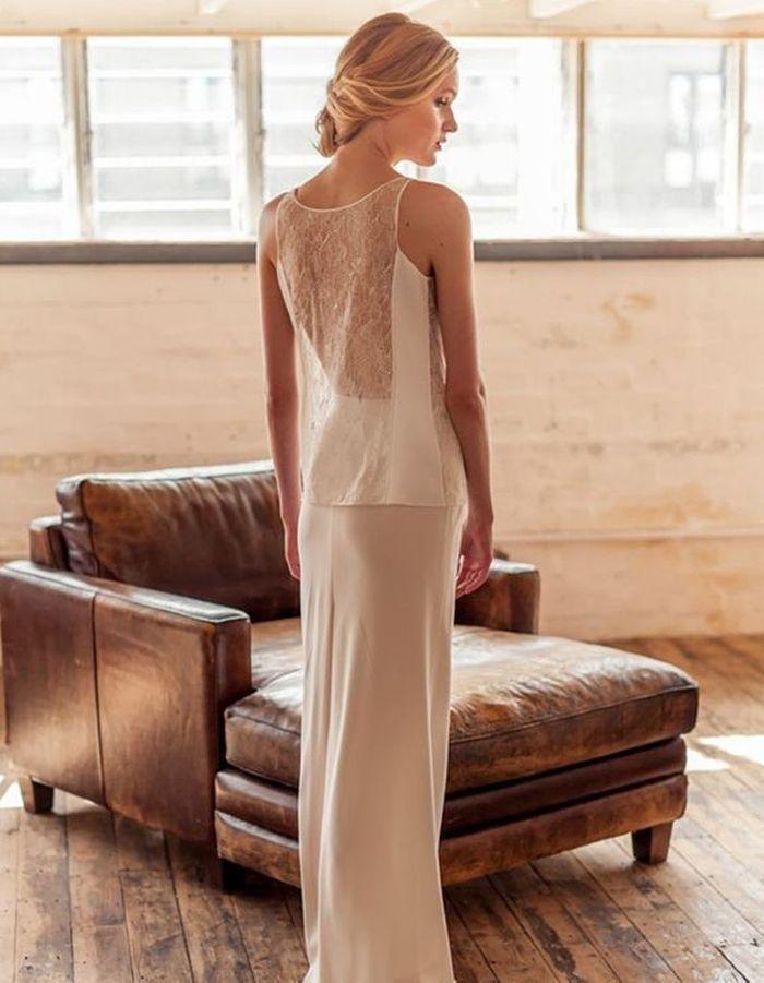 Robe de mariée de princesse moderne