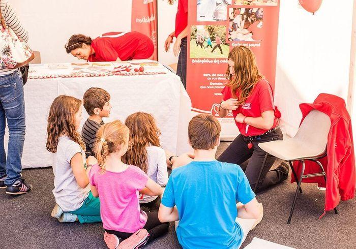 Nos mini runners sont attentifs aux conseils de la Fédération Française de Cardiologie