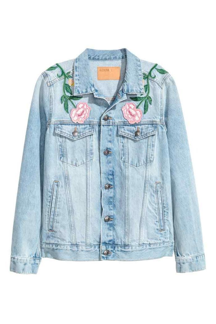 Veste en jean H&M
