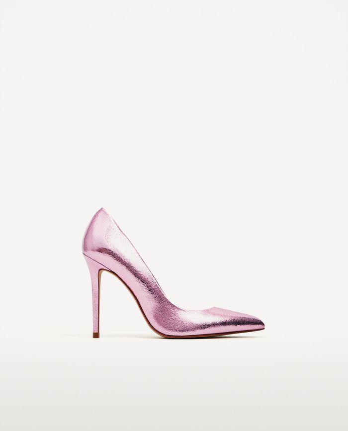 Escarpin rose Zara