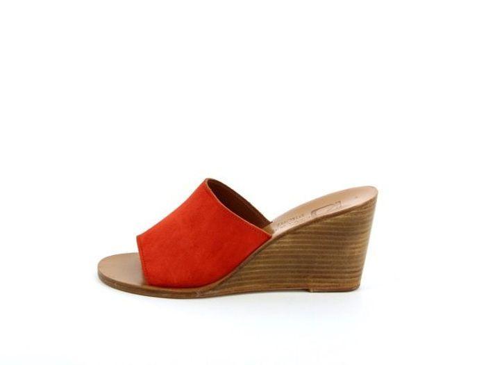 Sandales compensées K.Jacques Saint Tropez