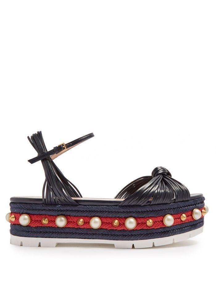 Sandales à plateforme  Gucci