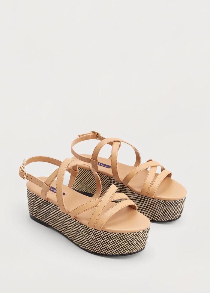 Sandales à plateforme Mango