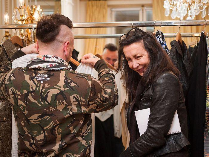 ELLE aime la mode - jeune talents au Crillon