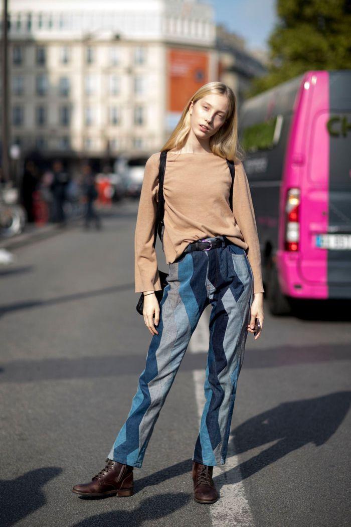 Un jean original