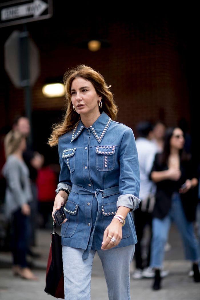 Une veste chic en jean