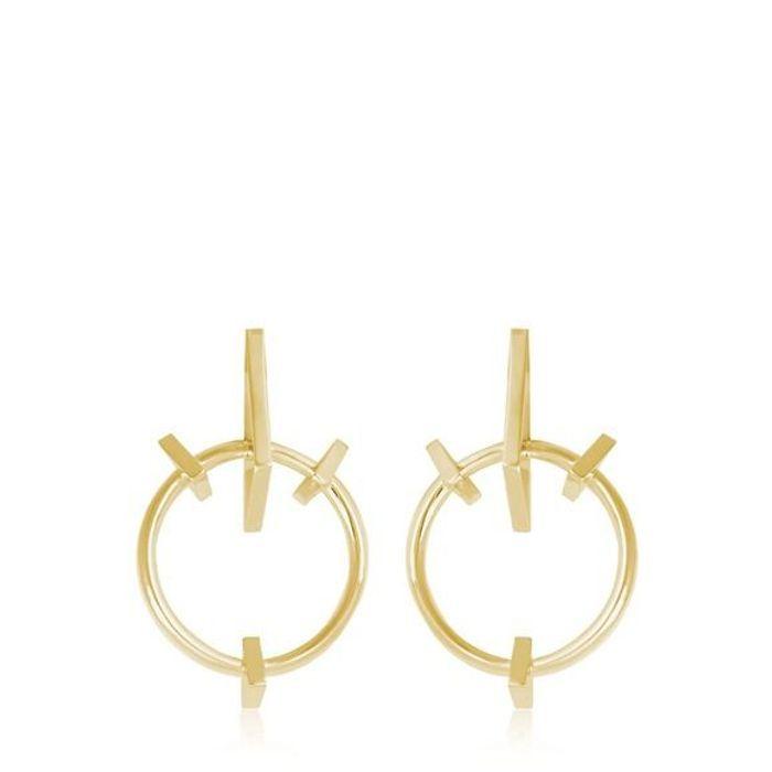 Boucles d'oreilles soldées Schield