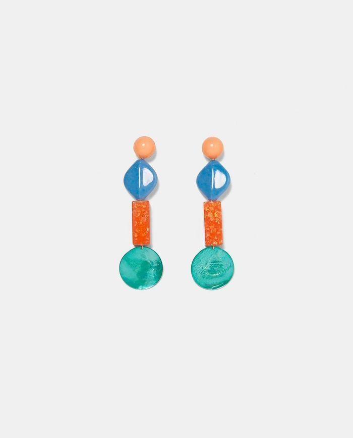 Boucles d'oreilles soldées Zara