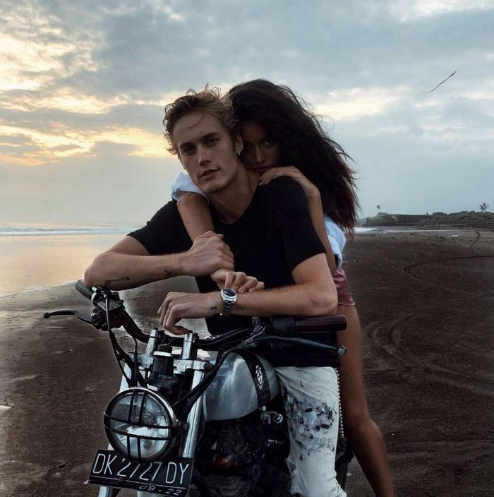 Neels Visser avec sa girlfriend